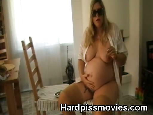 Porno Video of Smoking Hot Pregnant Slut Nude