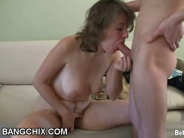 Porn Tube of Hairy Milf Oral And Hardcore