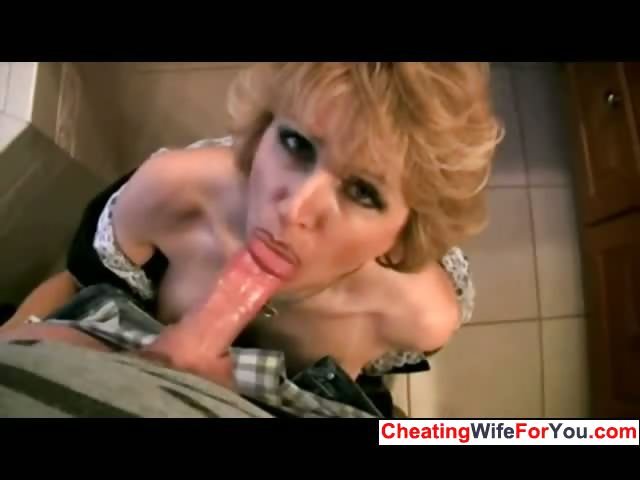 Porno Video of House Wife Likes To Swallow