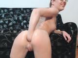 Hot pornstar anal fisting with cumshot