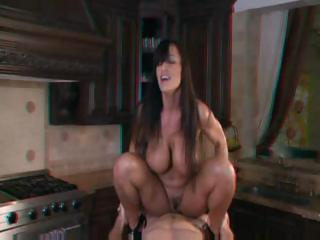 Porn Tube of Lisa Ann Fucking In 3d