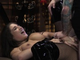 Awesome chick gets her punished
