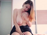 Natural tits mom fetish and cumshot
