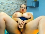 bbw latina with fat titties masturbating live on webcam
