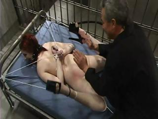 Sex Movie of Bondage In Jail Cell