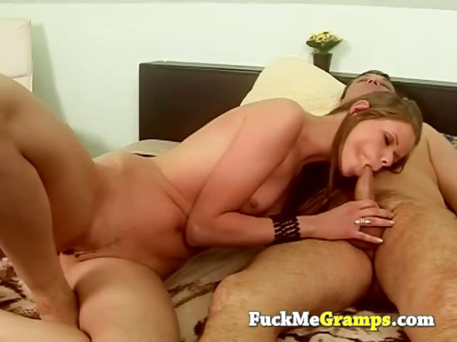 Porn Tube of Grandpa Role Playing With Teen Slut