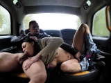 Fake Taxi Horny French wife sharing taxi
