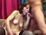 Hard penis fits perfectly in shaved cunt