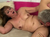 Mature lady Catrina Costa gets drilled