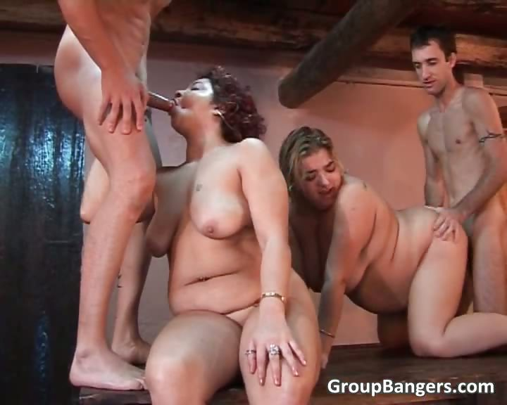 Porn Tube of Two Fat And Horny Mature Sluts Fucked
