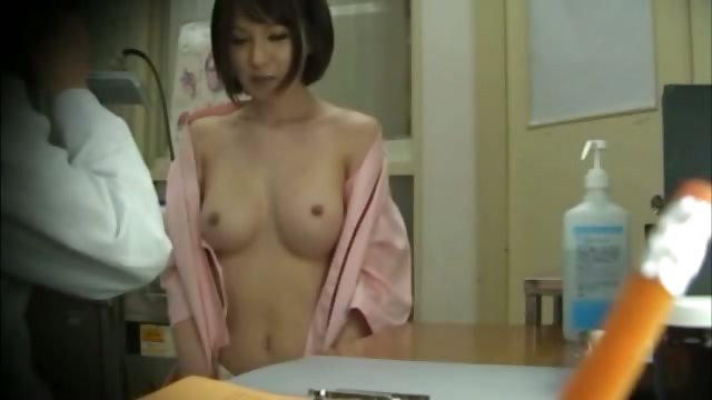 Porno Video of Horny Asian Gets Tits Out For Her Doctor And Loves It