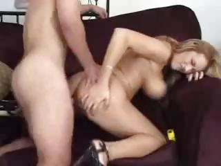 Sex Movie of Trina Michaels Fucks Hardcore With Her Big Tits