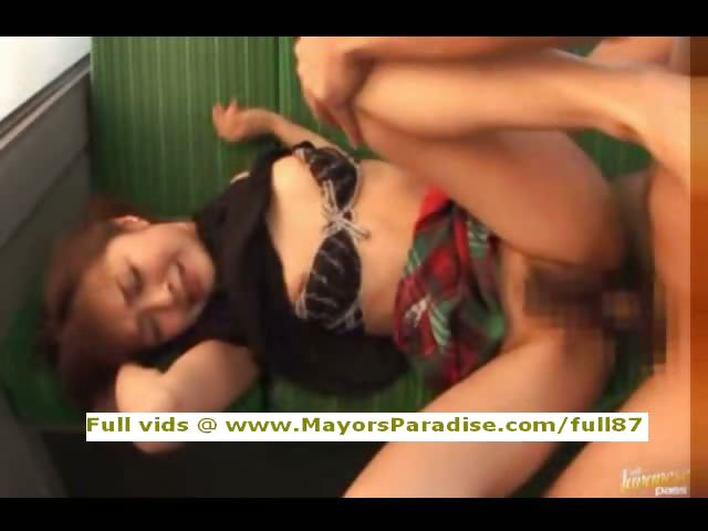 Porn Tube of Mihiro Innocent Chinese Girl Enjoys A Fucking On The Bus