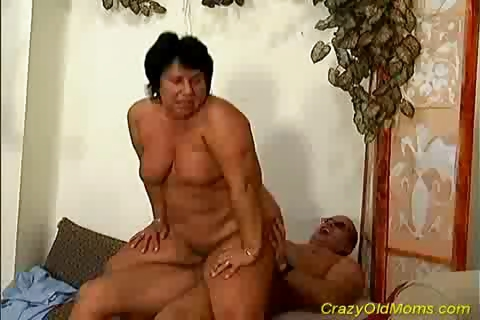 Porno Video of Crazy Old Mom Gets Fucked Hard
