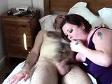 BBW mature amateur takes big cock