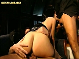 The young Lucy loves two dick