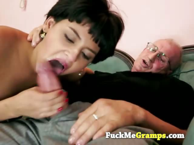 Porn Tube of The Old Man Can Teach Her