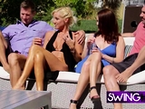 Swinger couples break out of their shell