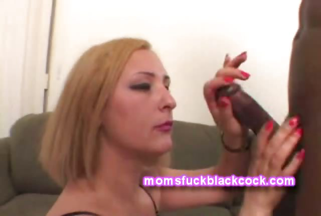 Porno Video of Thick Blonde Milf Needs Her Cock Black And Meaty