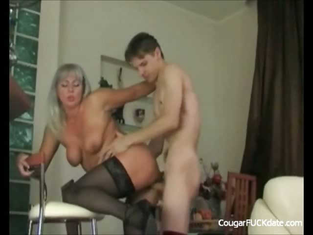 Porn Tube of Unfaitful Cougar Wife In Action