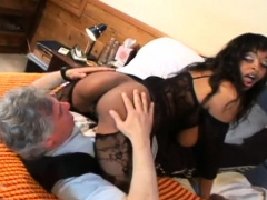 Hot angels gets her ass worshipped and licked by a kinky lad