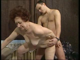 Porn Tube of German Brunette Granny Gets A Younger Cock To Fuck Her Hardcore