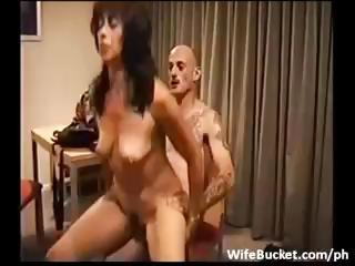 Porn Tube of Newbie Wife Gets Talked Into A Threesome And Gets Fucked Hard