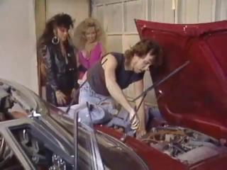 Porn Tube of Classic Threesome In The Garage With Kassie Nova And Victoria Paris
