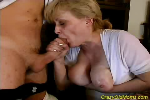 Porno Video of Busty, Blonde Granny Gets Fucked Hard In Her Hairy Pussy By Young Dick