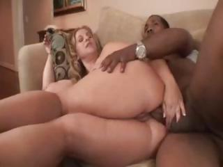 Porno Video of Chubby Blonde Babe, Summer, Gets A Big Black Dick In Her Ass
