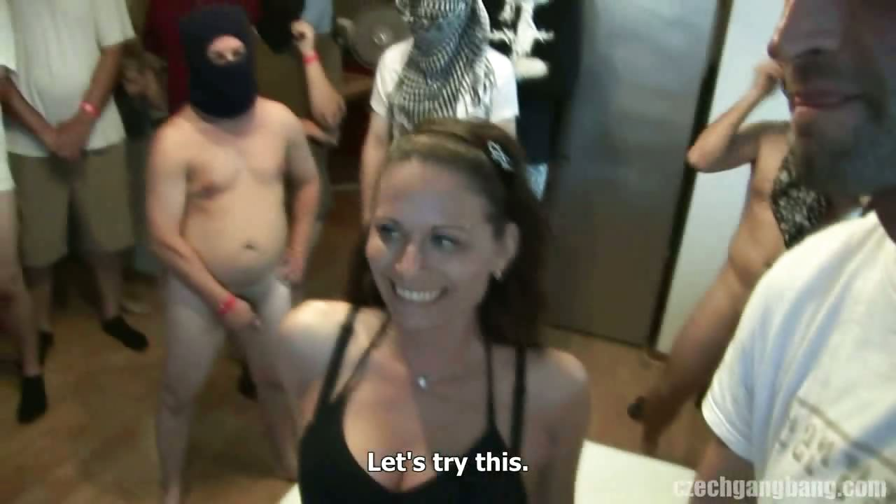 Porno Video of Wife's Dream Comes True At Czech Gang Bang
