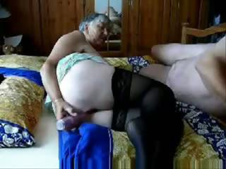 Porn Tube of Grandma And Grandpa Get Busy As He Plays With Her Pussy Before Fucking