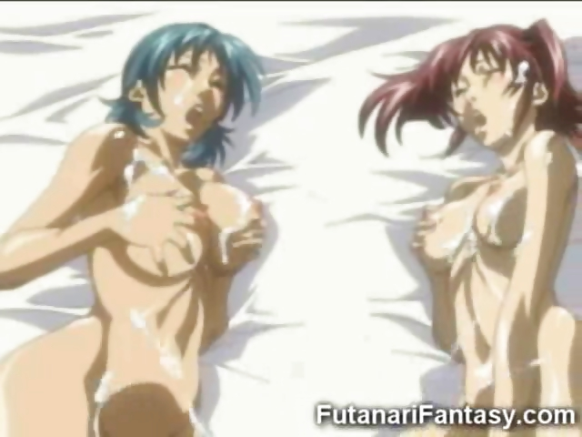 Porn Tube of Hentai Futanari With 2 Cocks!