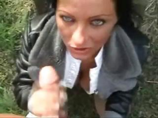 Porn Tube of German Exhibitionist Creampie Slut