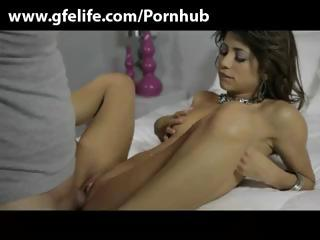 Porno Video of Brunette Teen Veronica Rodriquez Blows His Cock And Rides It