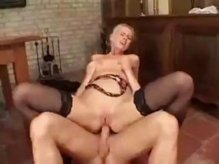 Porno Video of German Porn With The Blonde Boss Lady Getting A Big Cock To Fuck