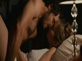 Porno Video of Brunette Celebrity Louise Bourgoin In Nude Sex Scenes From The Movie Happy Event