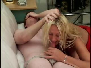 Porn Tube of Blonde Granny Anastasia Sands Has Saggy Tits And A Pussy Worth Fucking