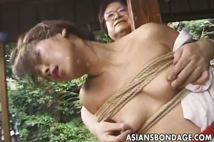 Porn Tube of Japanese Bondage Video Rope And Tied
