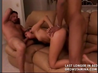 Porn Tube of Skinny Teen Dp