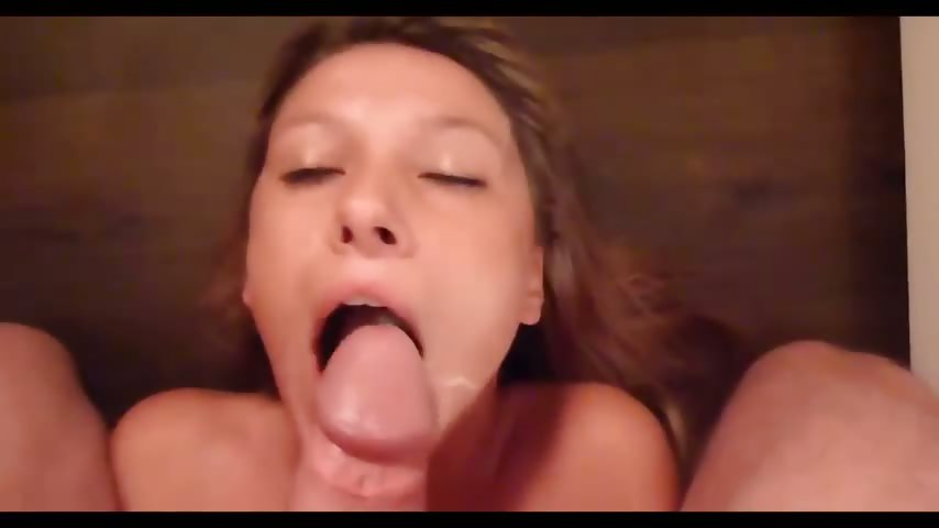 Porno Video of German Teen Girl Swallows Pov Style