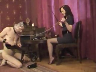 Porno Video of Mistress Leni