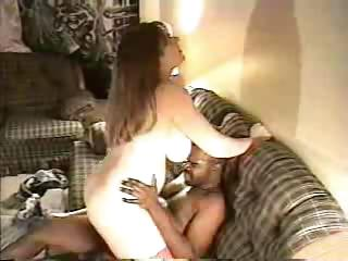 Porn Tube of Big Wifey Blows And Fucks Long Hog
