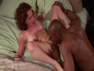 Porn Tube of Curly Cutie Gets A Big Black Cock To Drive Her To Female Orgasms