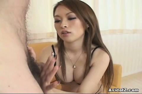 Porno Video of Hot Japanese Babe Gives Tit Job Follwed By Cumshot Uncensored