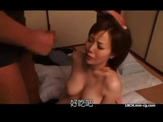 Porno Video of Asian Wife Gets A Rough Pounding In Her Hairy Bush Then Handles His Cock Later In The Kitchen