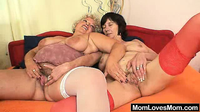 Porn Tube of Hirsute Amateur Wives First Time Lesbian