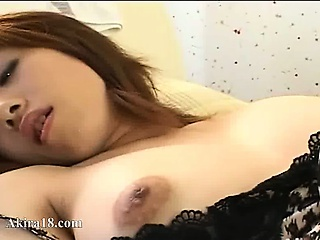 touching and tease of asian clit