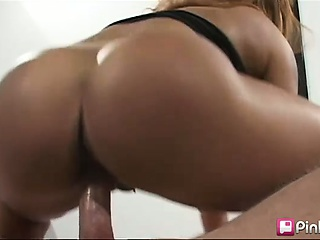 this sexy latina milf wasn't getting any loving at home so