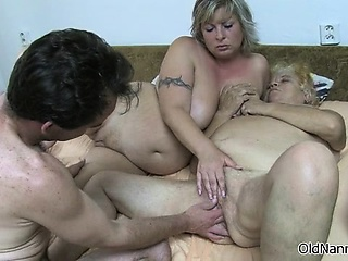 dirty old women gets fucked hard
